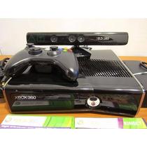Xbox 360 Slim  4 Gb Con Kinect Y Dos Juegos