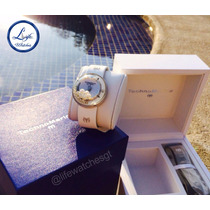 Reloj Technomarine Aquasphere Con Perlas Y Diamantes Mujer