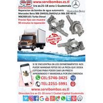 Bomba De Agua Automotriz Mercedes Benz 926,906 Guatemala