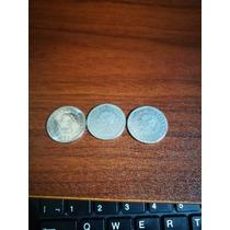 Monedas Antiguas De 25 Centavos Del Salvador Del 1994