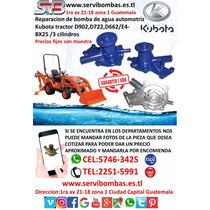 Reparacion De Bombas De Agua Automotrices Kubota  D902 3cl