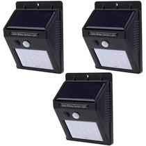 3 Pack:  Lamparas Recargables Por Energía Solar De 20 Leds
