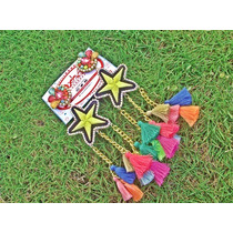 Zarcillos O Aretes Star Patch Full Colors
