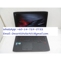10 Nuevo, Asus Rog G751jy-dh71 I7 24 Gb 1 Tb + 256 Gb