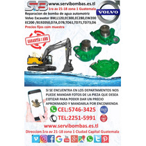 Bomba De Agua  Volvo Excavador ,d7a,d7b,td61,td71,guatemala