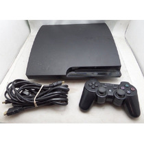 Play Station 3 Slim De 160 Gb Con Un Control Y Dos Juegos